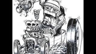 Cartoon Hot Rods & Customs Gallery - art of and inspired by Ed