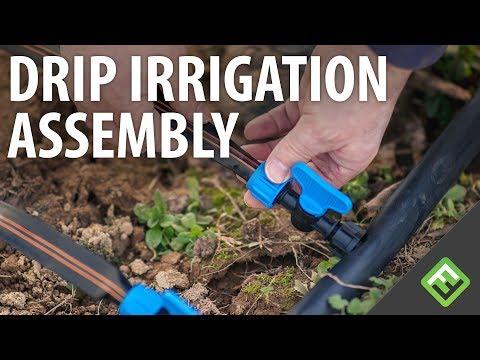 How to setup Drip Irrigation
