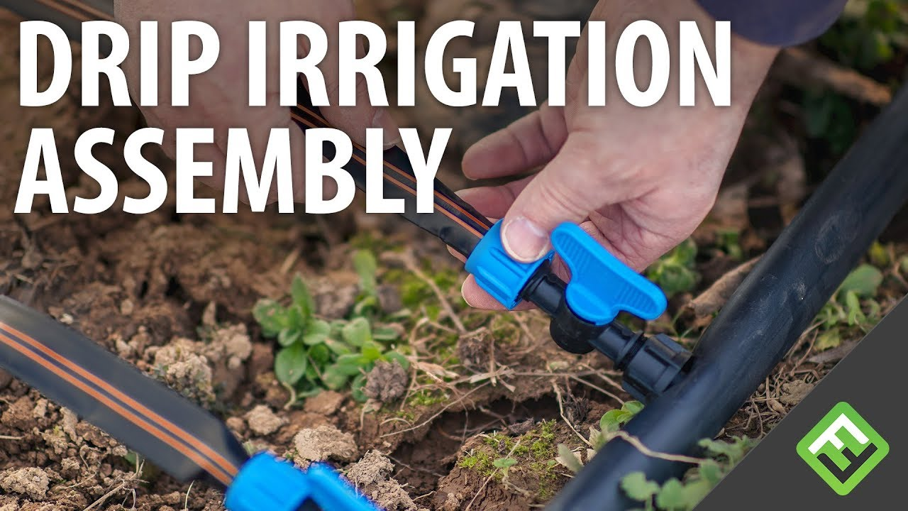 how to attach drip irrigation to sprinkler system