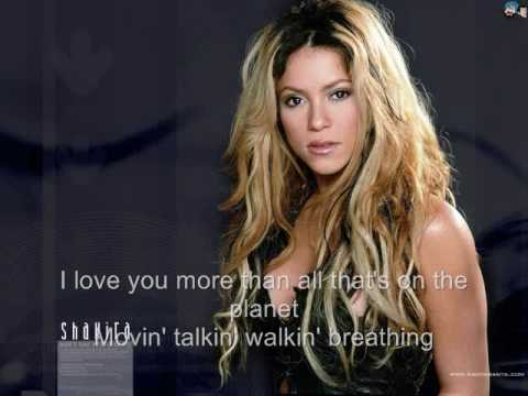 Underneath your clothes. SHAKIRA (Lyrics)