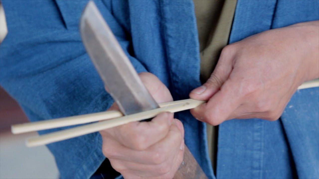 Bamboo Splitting And Making Strips For Weaving