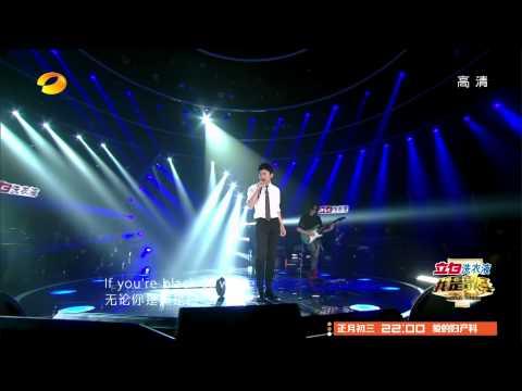 Jason Zhang (Zhang Jie, 张杰)live performance-Black Or White