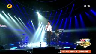Jason Zhang (Zhang Jie, 张杰)live performance-Black Or White