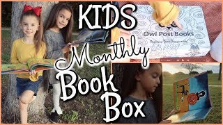 HALLOWEEN BOOKS UNBOXING!! MONTHLY SUBSCRIPTION BOX by OWL POST BOOKS!!