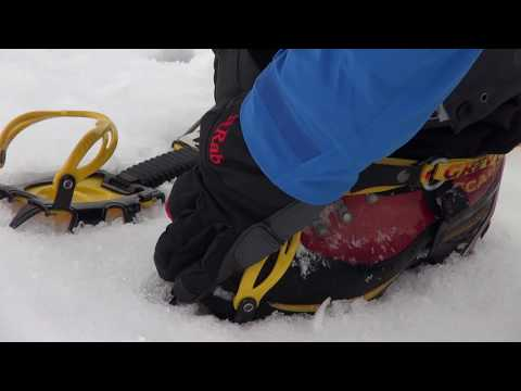 Winter skills 2.3: how to put on crampons