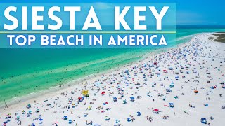 Siesta Key Florida Island Tour 4K
