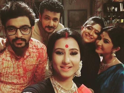 Punni Pukur Behind The Scenes | Star Jalsha Bangla TV Serial Punyi Pukur Making