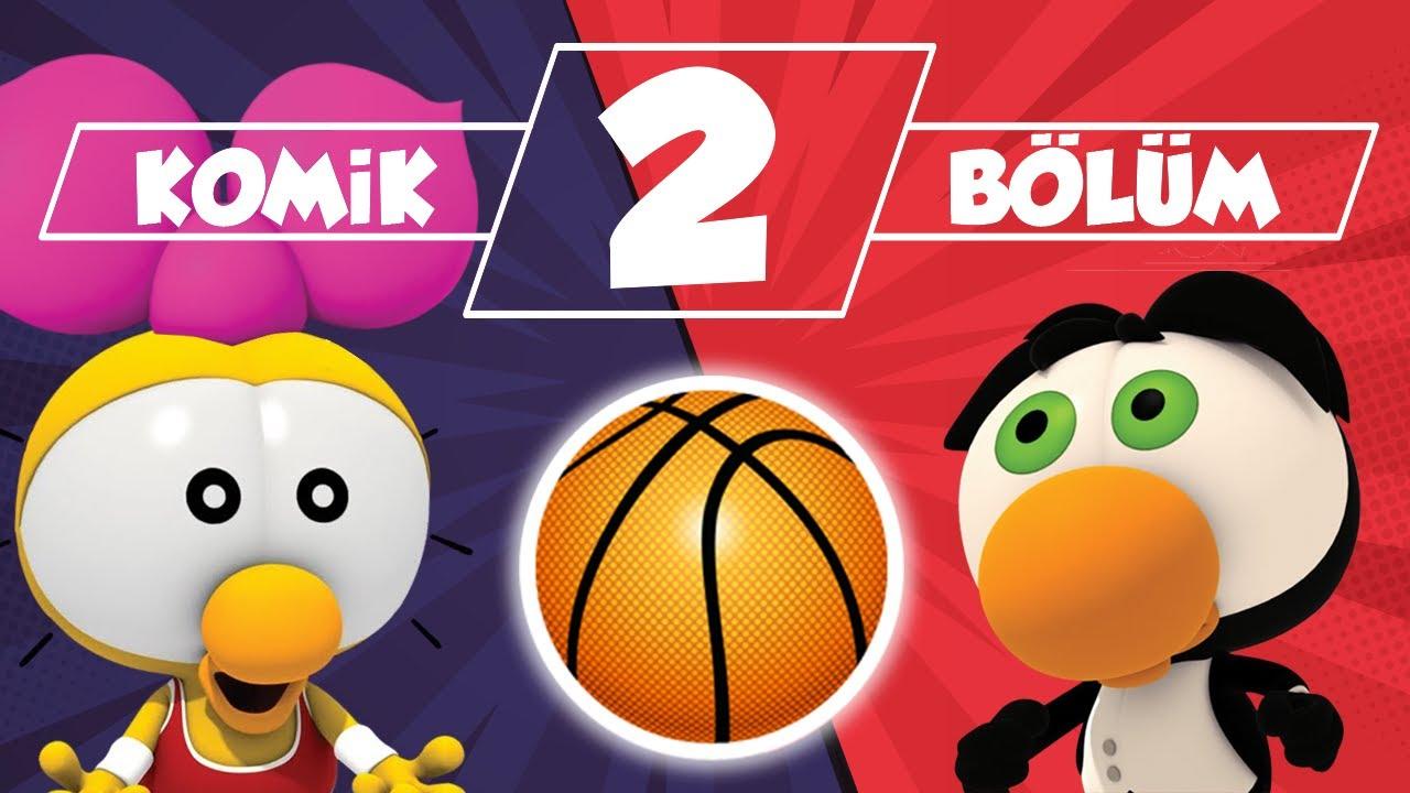 LİMON İLE ZEYTİN: Çok Heyecanlı Basket Maçı  ve Acayip Komik Bir Film