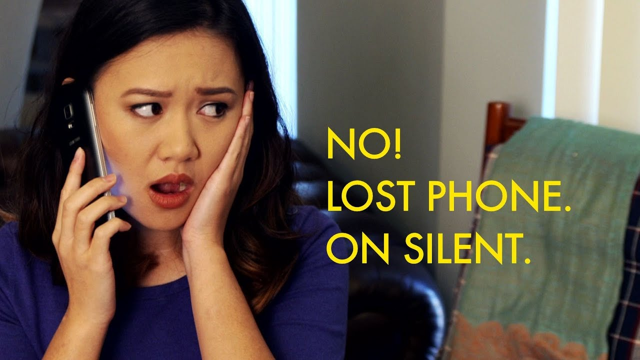 oh no  lost phone  on silent