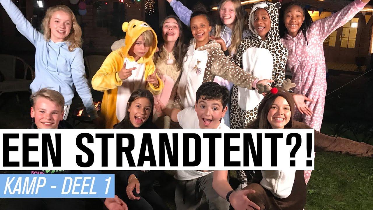 #18 EEN STRANDTENT?! KAMP 2020 🏕 | JUNIOR SONGFESTIVAL 2020 🇳🇱