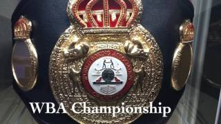 Boxing Belt Collection