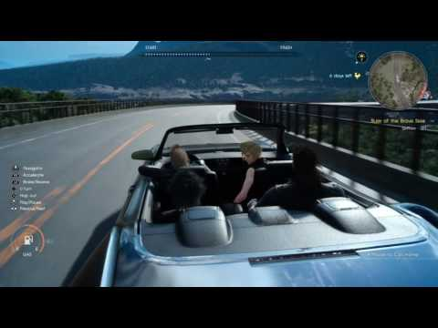 FINAL FANTASY XV: Unkown Car Shop & MP3 Player