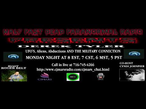 Half Past Dead Paranormal Radio Derek Tyler show