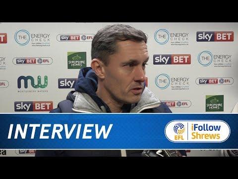 INTERVIEW - Paul Hurst post Portsmouth - Town TV