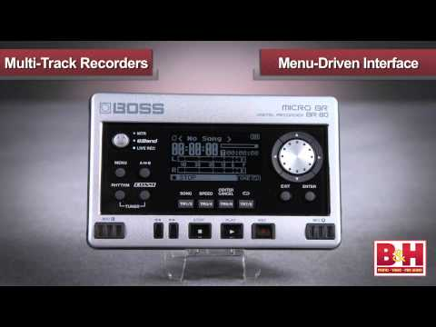 Portable Multi-Track Recorders