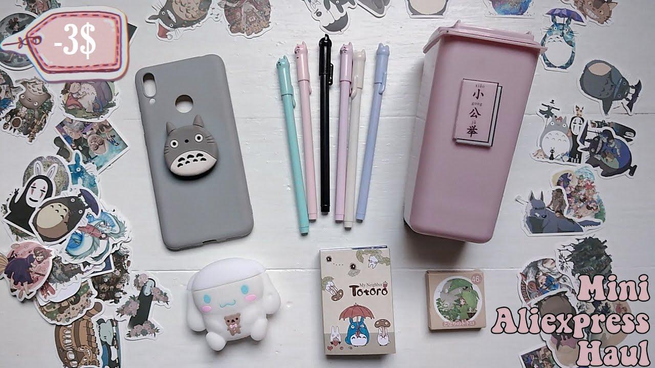 Mini Aliexpress Haul 2020 [ Cute Studio Ghibli Stationery And Shirousa Products ] I Lunadrella