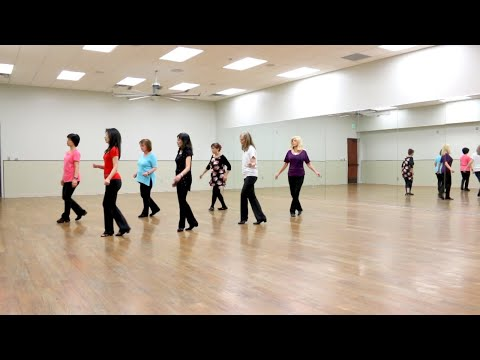 Through The Night - Line Dance (Dance & Teach in English & 中文)