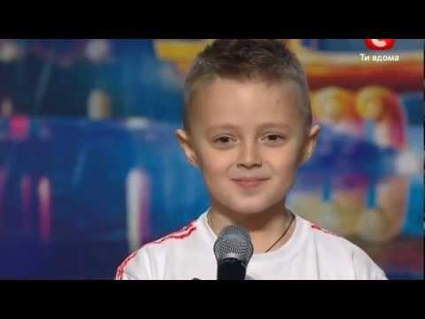 Видео, Украина мае талант 4  Донецк  Виталий Тищенко