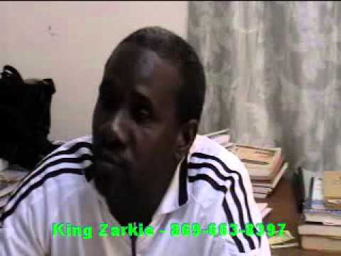 KING ZARKIE - St. Kitts Gospel Artiste - Interviewed by Dare 2 Be Different Internet TV