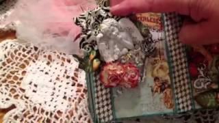 Handicrafts Supplier DT Project-Prima Cigar Box Secrets Altered Box