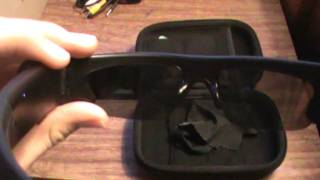 Active I hidden spy sunglasses camera footage and review with lcd screen