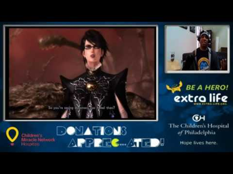 Bayonetta 2 Charity Stream For The Children's Hospital of Philadelphia (Part 13)