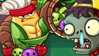 Plants vs. Zombies Heroes - New Update New Map Mission 21 A Hard Nut To Crack! (PvZ Heroes)