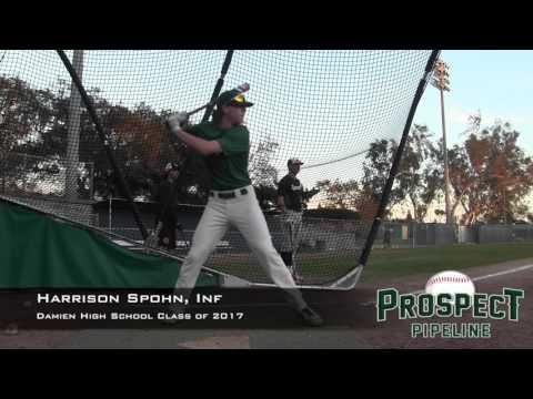 Harrison Spohn Prospect Video, Inf, Damien High School Class of 2017