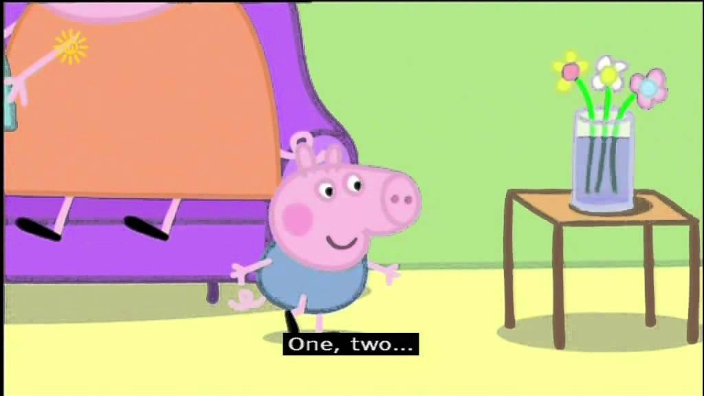 Peppa Pig Series 1 Hide And Seek With Subtitles