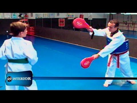 Taekwondo: atleta de apenas 9 anos vai disputar torneio nos EUA