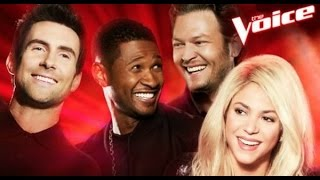 Download Top 9 Blind Audition (The Voice around the world IX) Mp3 and Videos