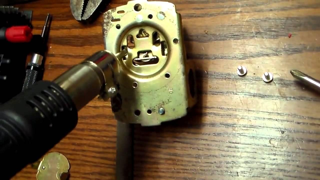 Husky Air Compressor Pressure Switch Wiring Diagram Water Pump Pressure Switch Repair Youtube