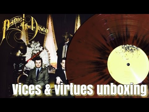 0faa3221 PANIC! AT THE DISCO - VICES & VIRTUES VINYL UNBOXING | Vinyl Desire ...