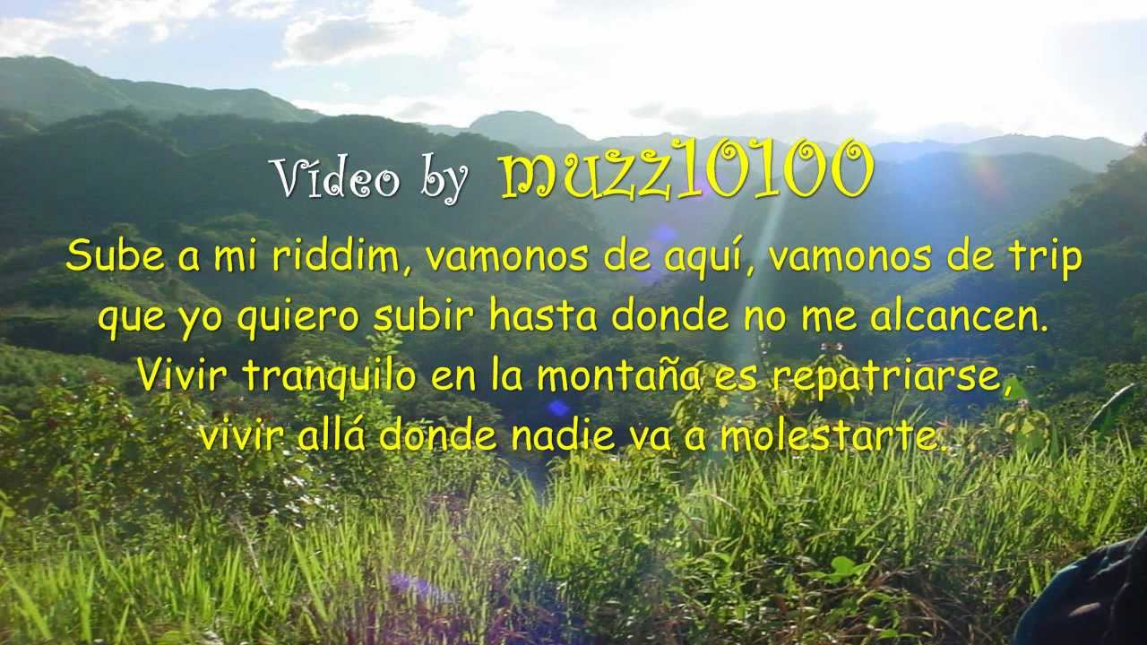 Zona Ganjah Jah Es Bendicion Letra Despertar 2012 Hd Youtube