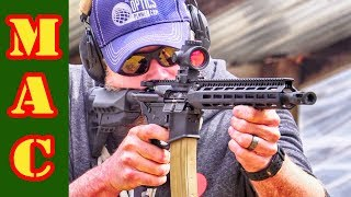 How many rounds without cleaning or lubrication before a DI AR15 fails?