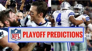NFL 2017 Playoff Predictions   Who Will Win Super Bowl 51?