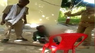 On Cam: Brutality of UP police inside police station