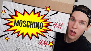 MOSCHINO X HM Unboxing!! SOLD OUT!! Luxury Haul!!