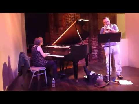 Myra Melford Duet with Taylor Ho Bynum