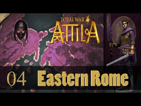 Total War Attila :: Eastern Roman Empire (VH) :  Part 4 Going Pagan