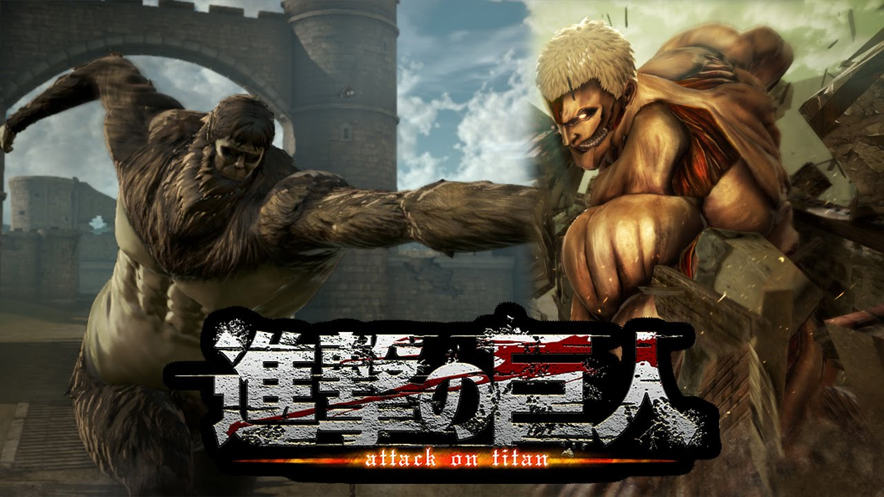 Attack on Titan PS4 Gameplay Overview, Armored Titan ...