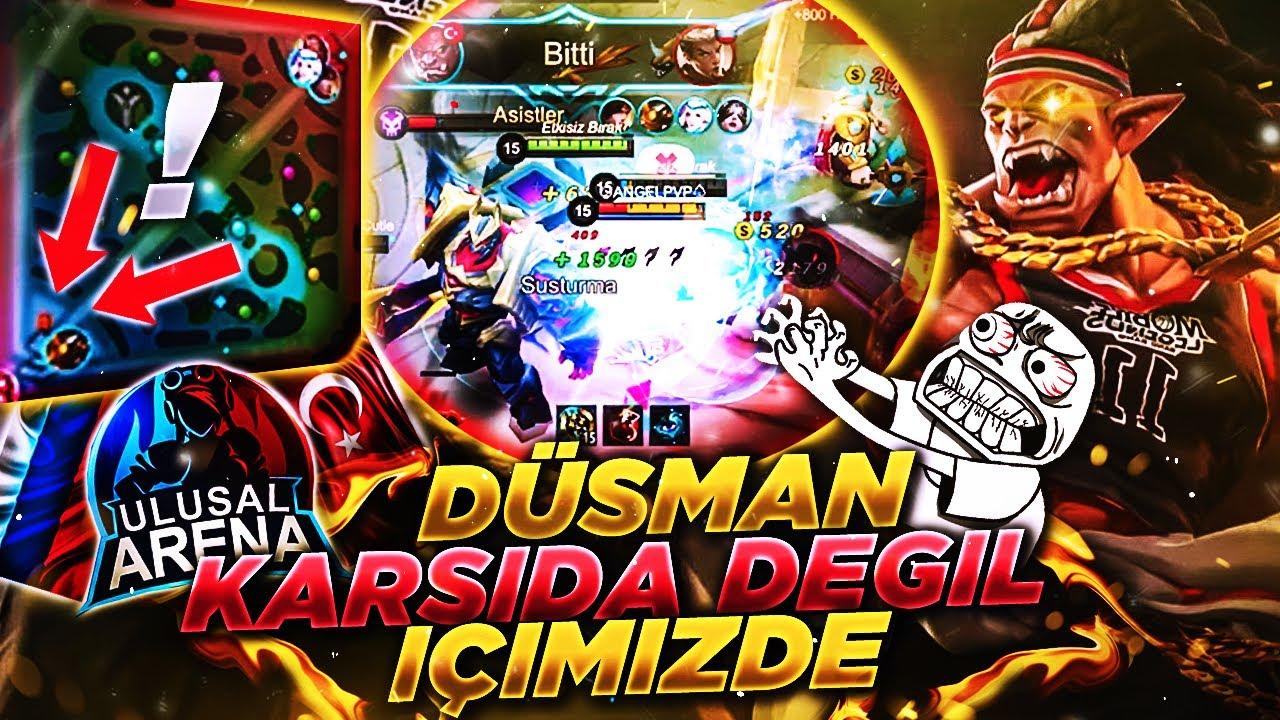 TÜRKİYE vs RUSYA - ULUSAL MAÇ!   BALMOND İLE SIRTLAMAYA ÇALIŞMAK! w/Çenesi Düşükler   Mobile Legends