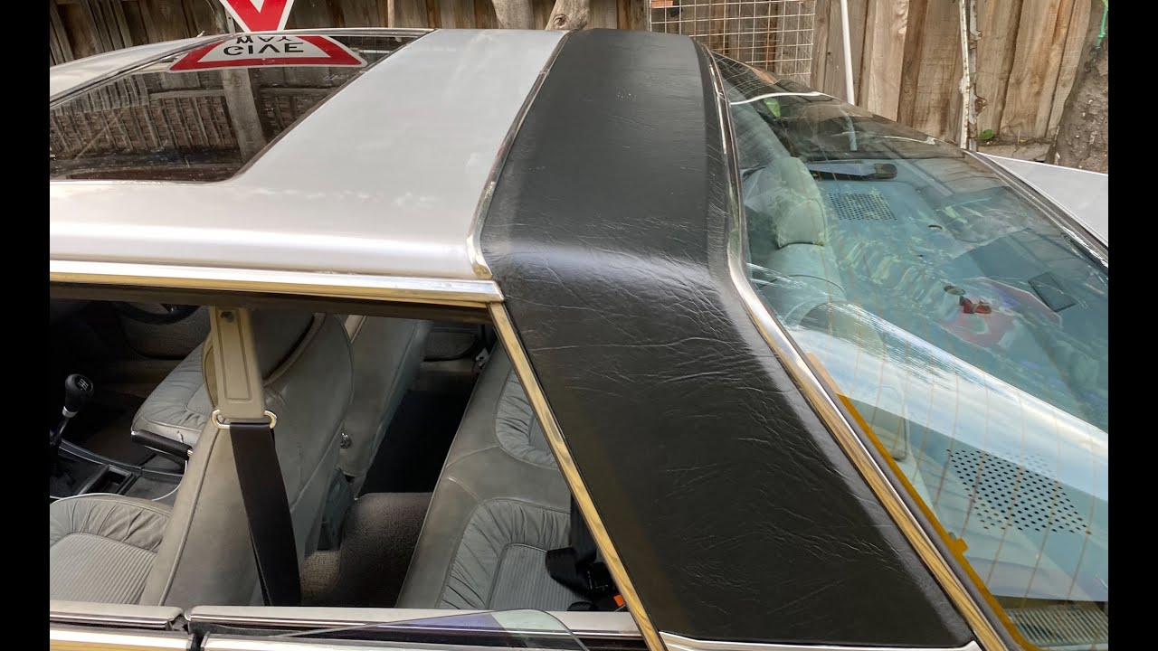 Chrysler Scorpion 1978 GE , Vinyl roof installation