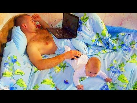 What Happens when Baby Play With Daddy - Funny Baby Videos