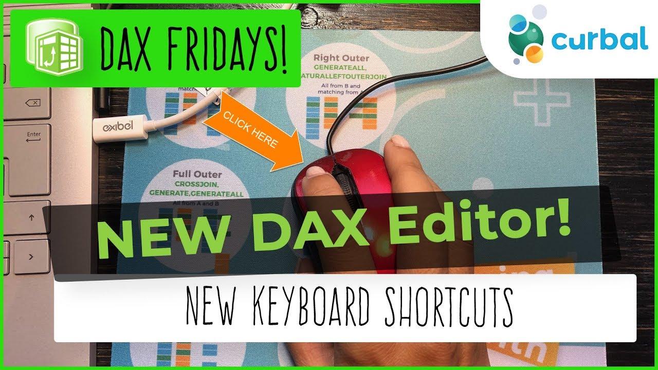 DAX Fridays! #102: The DAX Editor   Power BI October 2018 Update