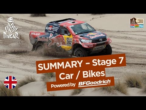 Stage 7 Summary - Car/Bike - (La Paz / Uyuni) - Dakar 2017