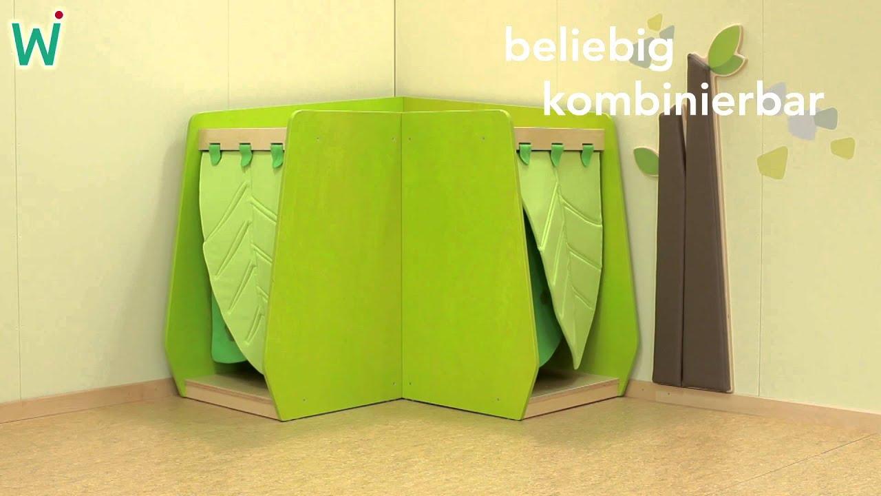 Kuschelhöhle kindergarten  grow.upp Winkelschrank mit Beleuchtung ≫ Faszination Licht in der ...