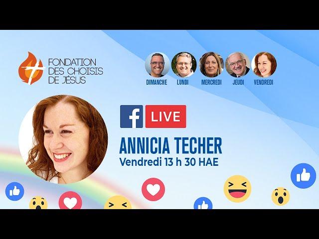 Facebook Live quotidien 25/09/2020 - Se laisser transformer