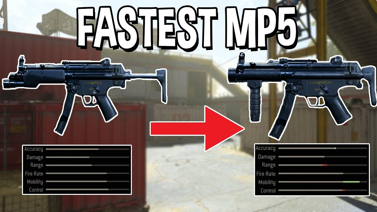 Best Fast MP5 Class Setup is still Insane After the Nerf | New Best MP5 Loadout After 1.23 Update