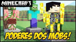 Minecraft - ARMADURA DOS MOBS!! Mod Showcase Armor Mobs!!